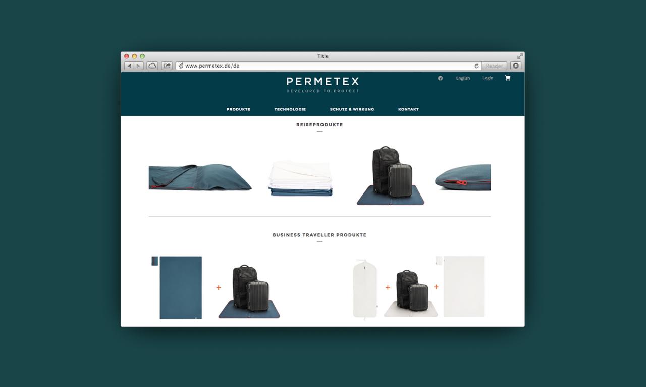 studiododo Permetex – Visuelle Identität