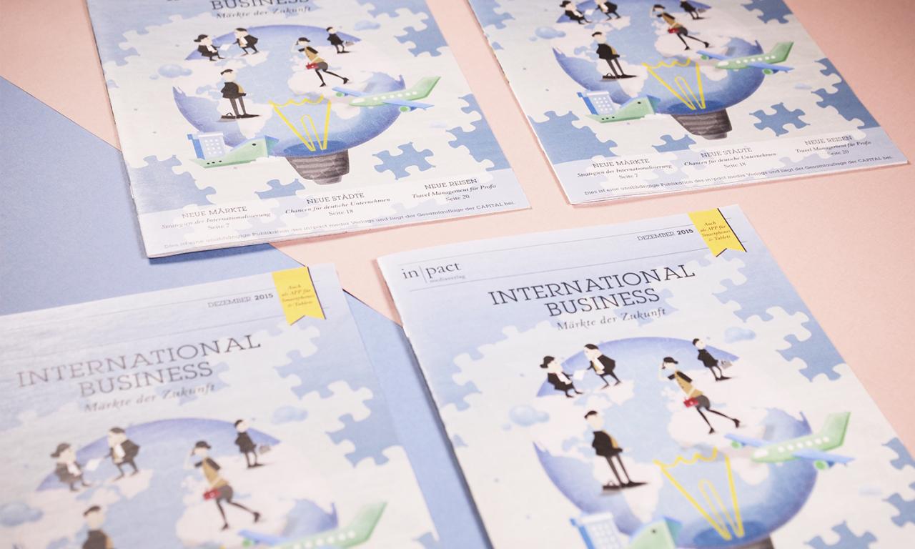studiododo inpact Media – Editorial Illustration