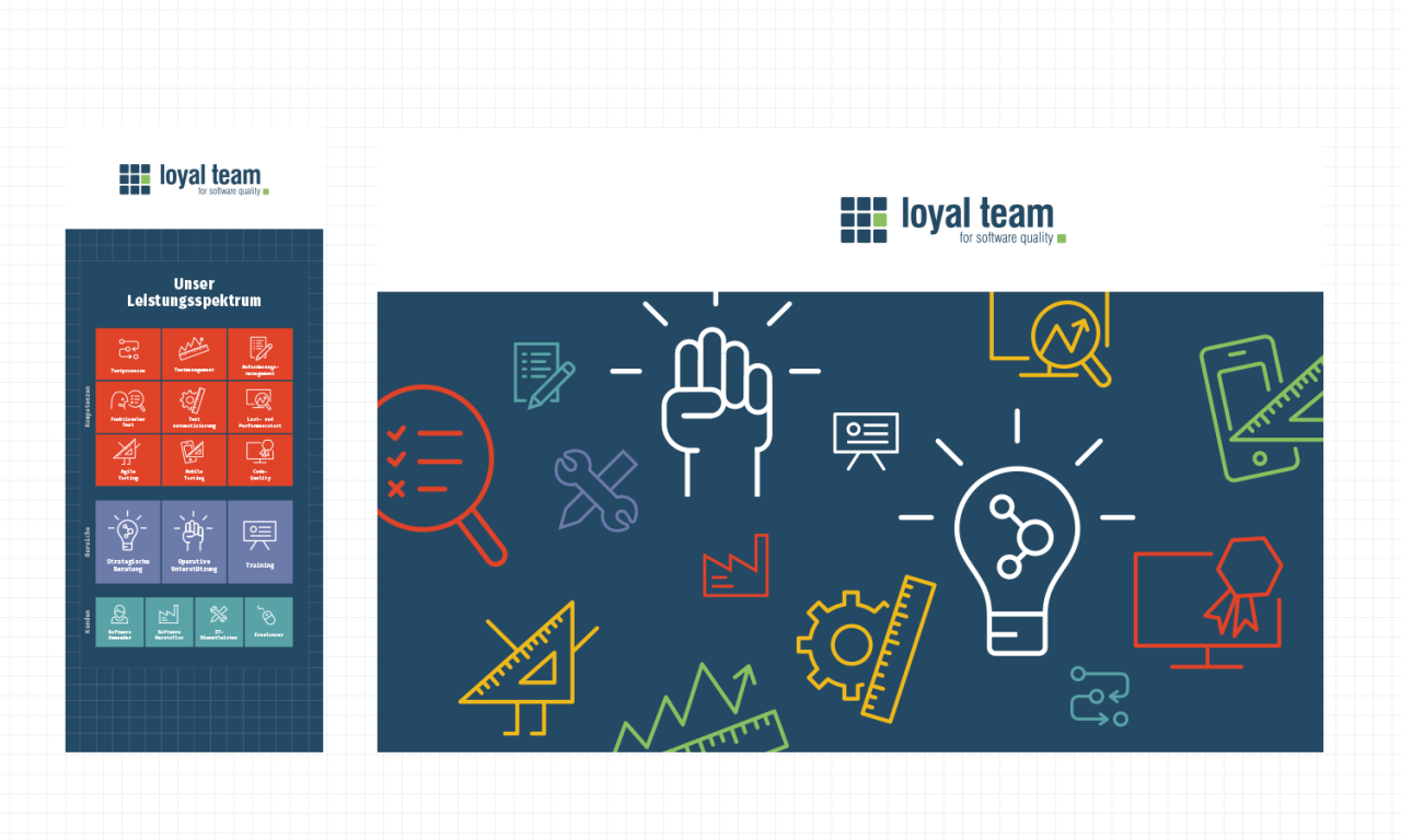 studiododo loyal team – Visuelle Identität