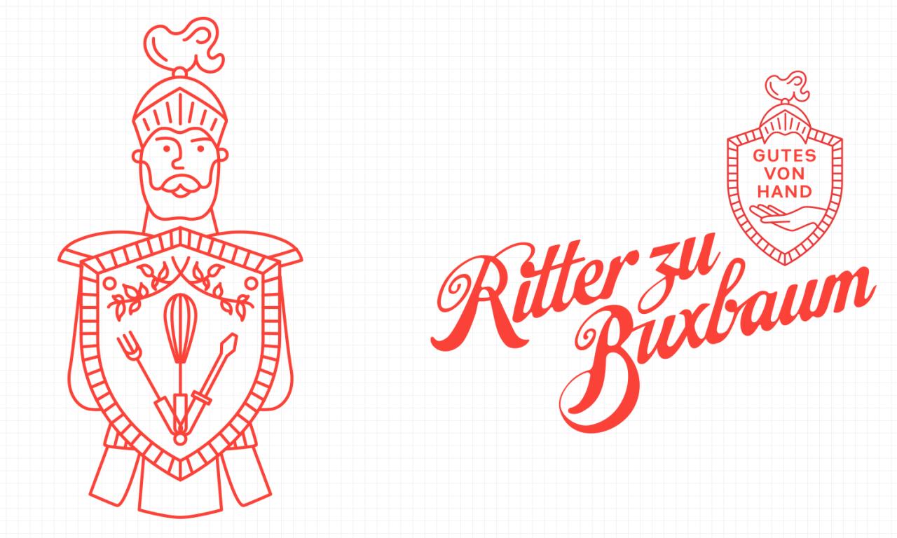 studiododo Ritter zu Buxbaum – Visuelle Identität